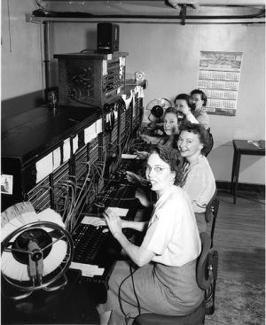 Seattle telephone operators